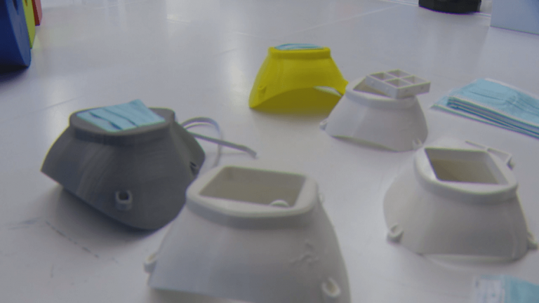 North Texas software company making 3D respirator masks to help during COVID-19 pandemic